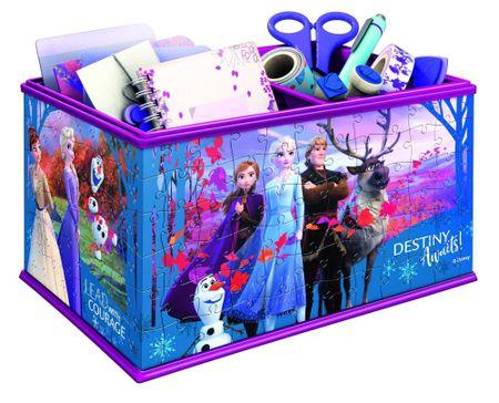 Ravensburger 3D Puzzle kirakós játék 121229 Disney Jégvarázs 2 tárolódoboz216 darab