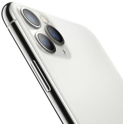 Apple iPhone 11 Pro, duální širokoúhlý ultraširokoúhlý fotoaparát vylepšený noční režim optická stabilizace obrazu Smart HDR