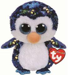 TY Beanie Boos Flippables Payton - tučniak 24 cm s otočnými flitrami
