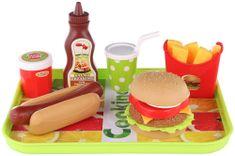 Lamps zestaw zabawek - hamburger i hot-dog