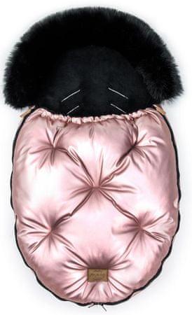 Floo For Baby Fusak Alaska shine rózsaszín/fekete
