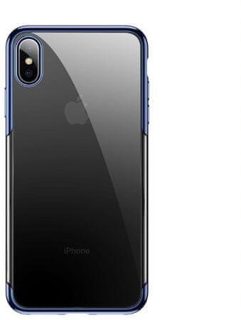 BASEUS Shining Series védőtok az iPhone X/XS-re, kék, ARAPIPH58-MD03