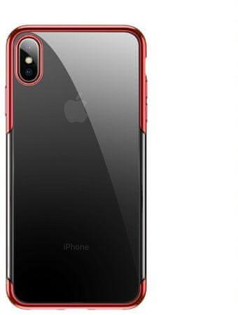 BASEUS Shining Series zaščitni ovitek za iPhone X/XS, rdeč, ARAPIPH58-MD09