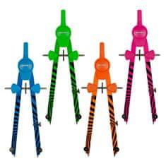 Kružítko kovové školní Kores GRAFIKO NEON 3 díly mix barev