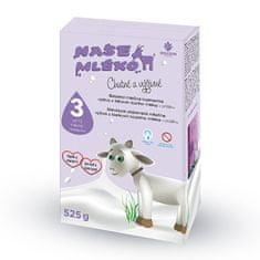 Naše mléko 3 batol. výživa z kozího mléka 12 m + 525 g
