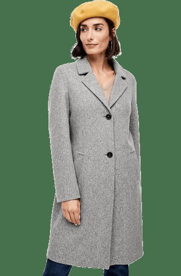 s.Oliver dámsky kabát 36 sivá