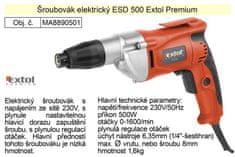 Extol Premium Šroubovák elektrický Extol Premium ESD500