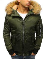 BUĎCHLAP Zelená bomber bunda na zimu