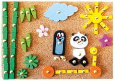 Bino Krtek a Panda: Hra s kladívkem