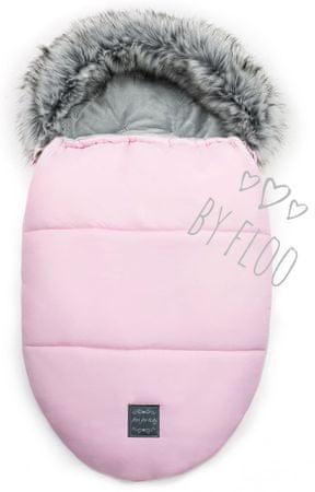 Floo For Baby Floo For Baby Egg zimska vreča za voziček, roza