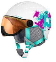 Relax Detská - Junior Lyžiarska helma Twister Visor