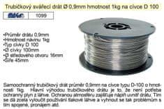 MAGG Drát svařovací trubičkový 0,9mm/1kg na ocel