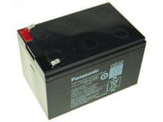 PANASONIC  12V 12Ah olověný akumulátor F2 LC-RA1212PG1