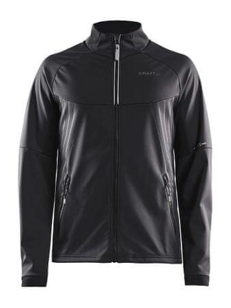 Craft Warm Train JKT M Black/Transp moška jakna, XS, črna