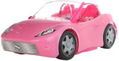 Lamps avto za lutke, roza