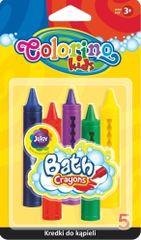 Colorino Pastelky voskové do vany 5 barev
