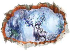 Zooyoo Samolepka na zeď Magický les 3D 50 x 70 cm