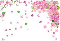 Zooyoo Samolepka na zeď květiny a motýlci 70 x 100 cm