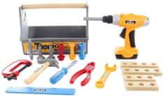 Lamps zestaw zabawkowych narzędzi ze stojakiem