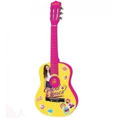 Lexibook dětská akustická dřevěná kytara Disney Soy Luna