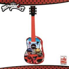 Reig dětská elektrická kytara Miraculous/Ladybug