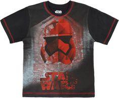 Cerda Dětské tričko Star Wars bavlna černé Velikost: 98/104 (3-4 roky)