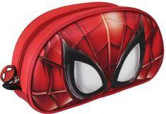 Cerda Penál Spiderman / cestovní taštička Spiderman 3D 22x12x6cm