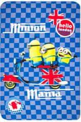 W&O Fleecová / fleece deka Mimoni Minion Mania 100x150