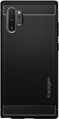 Spigen Rugged Armor maska za Samsung Galaxy Note 10+, crna