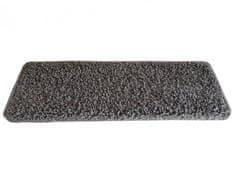 Vopi AKCE: 25x80 obdélník cm Nášlapy na schody šedý Color shaggy obdélník