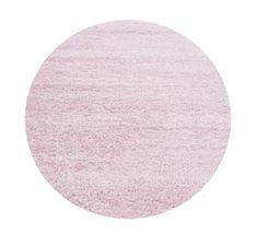 Ayyildiz Kusový koberec Life Shaggy 1500 pink kruh
