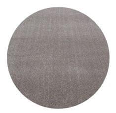 Ayyildiz AKCE: 200x200 cm Kusový koberec Ata 7000 beige kruh