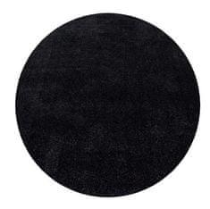 Ayyildiz Kusový koberec Ata 7000 anthracite kruh