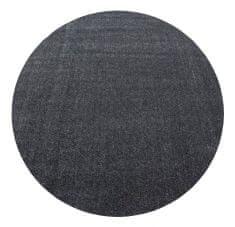 Ayyildiz Kusový koberec Ata 7000 grey kruh
