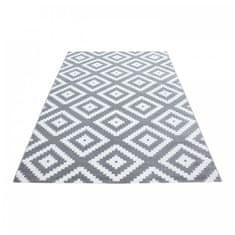 Ayyildiz Kusový koberec Plus 8005 grey