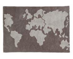 Lorena Canals Ručně tkaný kusový koberec World Map