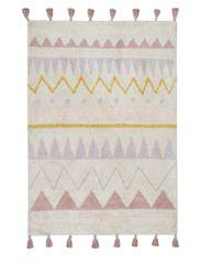 Lorena Canals Ručne tkaný kusový koberec Azteca Natural-Vintage Nude