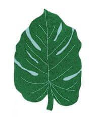 Lorena Canals Pro zvířata: Pratelný koberec Monstera Leaf
