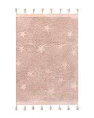 Lorena Canals Ručně tkaný kusový koberec Hippy Stars Vintage Nude