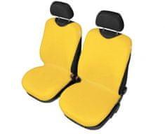 SIXTOL Autopotahy Tričko BAVLA na přední sedadla - žluté