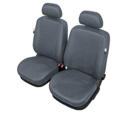 SIXTOL Autopotahy PRACTICAL na přední sedadla, šedé