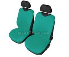 SIXTOL Autopotahy Tričko BAVLA na přední sedadla - zelená