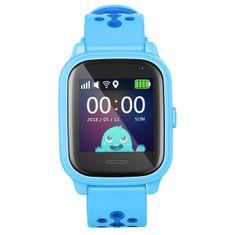 Smartomat Kidwatch 3, smartwatch (inteligentny zegarek), niebieski