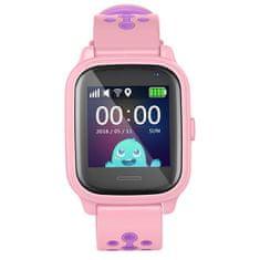 Smartomat Kidwatch 3, smartwatch (inteligentny zegarek), różowy