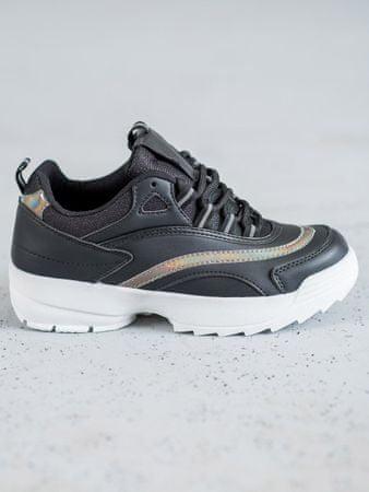Női tornacipő 57964, fekete, 38