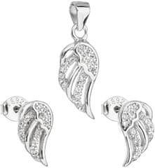 Evolution Group Ékszer fülbevaló szett és medál 19008.1 ezüst 925/1000