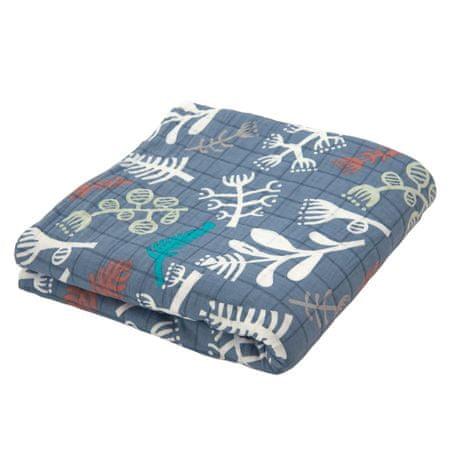 Lodger vícebarevný šátek na nošení Cocooner Botanimal Ocean