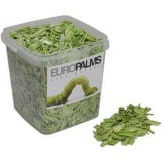 Europalms Dekorační dřevěné štěpky zeleno-žluté, balení 5,5 litru