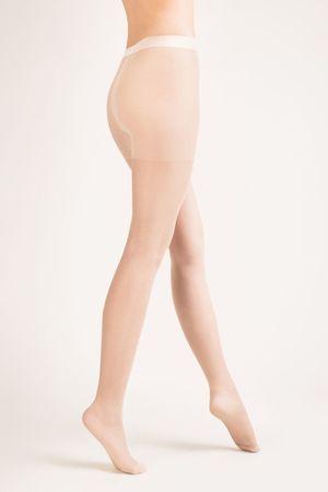 Gabriella Női harisnya Classic 15 den plus white + Nőin zokni Sophia 2pack visone, fehér, 5