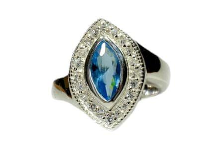Amiatex Ezüst gyűrű 14298, 58